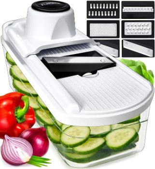 4. Fullstar Mandoline Slicer Vegetable Slicer and Vegetable Grater
