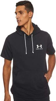 #4. Under Armour Sportstyle Short Sleeve Hoodie
