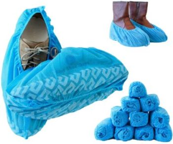 5. Blue Shoe Guys Premium Disposable Boot & Shoe Covers