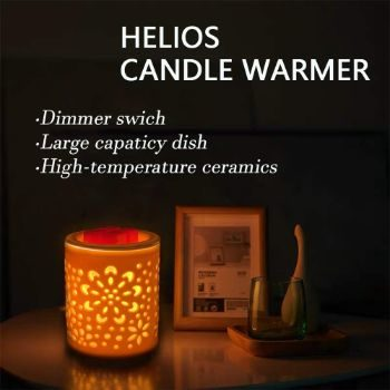 #5. Hituiter Electric Candle Warmer Lamp