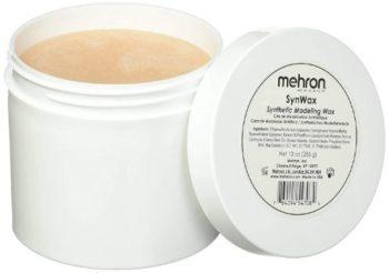 5. Mehron Makeup SynWax Synthetic Modeling Wax (10 oz)