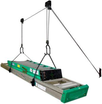5. StoreYourBoard Ladder Ceiling Storage Hoist