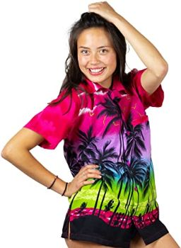 #5. V.H.O. Funky Women's Hawaiian Shirt
