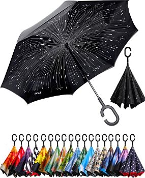 6. BAGAIL Double Layer Inverted Umbrella