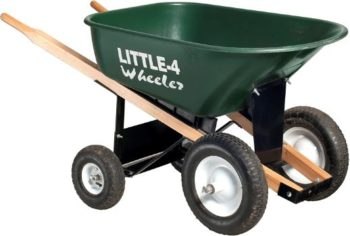 6. Big 4 Wheeler Heavy-Duty Wheelbarrow