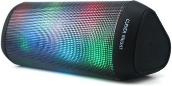 #6. CLEVER BRIGHT LED Bluetooth Speaker