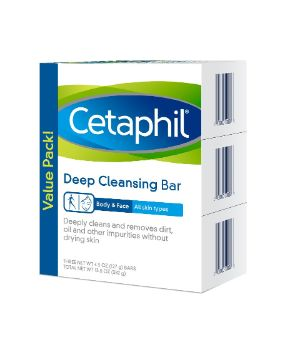 6. Cetaphil Deep Cleansing Face & Body Bar