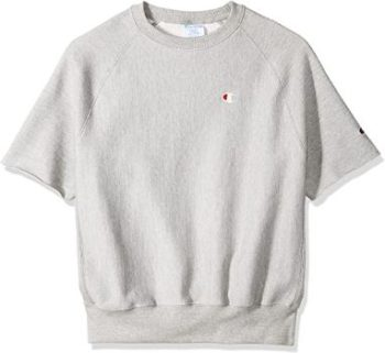 6. Champion LIFE Reverse Weave Short Sleeve Crew