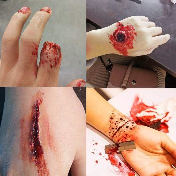 6. Meicoly Fake Wound Skin Wax Scar Body Paint