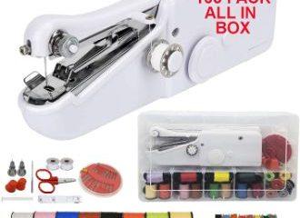 #6. TailorBox Handheld Sewing Machine