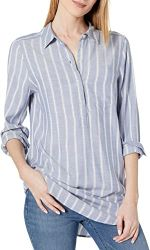 #7. Amazon Brand – Daily Ritual Women's Long-sleeve shirt