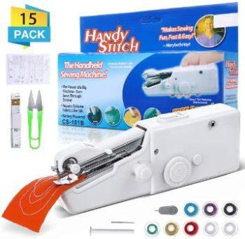 #7. CAMTOA Handheld Sewing Machine