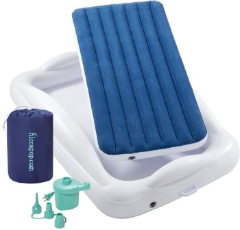 7. Hiccapop Inflatable Toddler portable mattress
