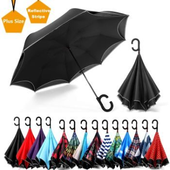 7. Siepasa Reverse Umbrella, Windproof