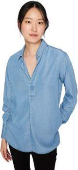 #8. Amazon Brand-Daily Ritual Women's Tencel Shirt