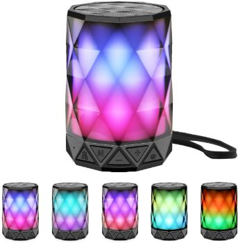 #8. LFS Night Light Bluetooth Speaker