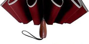 8. Lejorain Large Reverse Umbrella -50 Inch