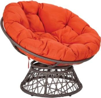 8. OSP Home Furnishings Papasan Chair