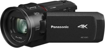 8. Panasonic PANASONIC HC-VX1 4K Camcorder