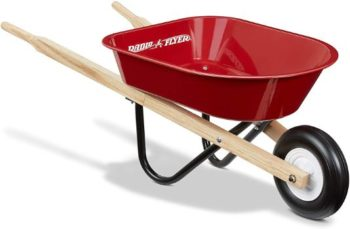 8. Radio Flyer Kid's Wheelbarrow