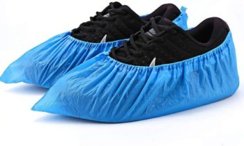 8. Shoe Covers Disposable, Waterproof - 50 Pack (25 Pairs)
