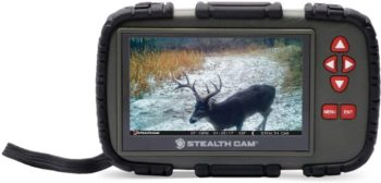 8. Stealth Cam 4.3 Color LCD Touch Screen