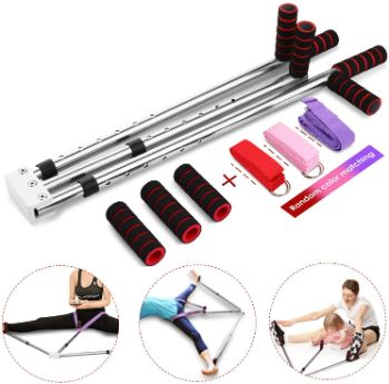 8. emdaot Leg Stretcher 3 Bar Leg Split Stretching Machine