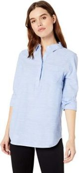 #9. Amazon Brand-Daily Ritual Women's broken-in Tunic Shirt