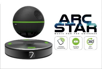 9. Arc Star Floating Speaker Bluetooth and NFC