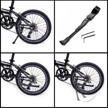 9. BESTCAN Bicycle Kickstand, Adjustable Aluminum Alloy