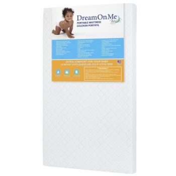 #9. Dream On Me Portable Mattress