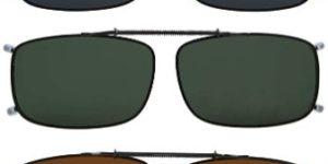 #9. Eyekepper Clip-on Polarized Sunglasses
