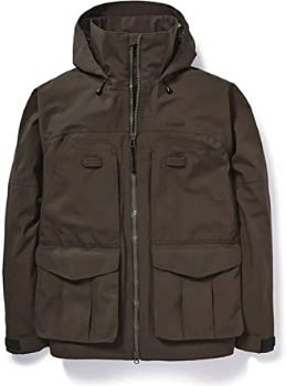 9. Filson 3-Layer Field Jacket Brown