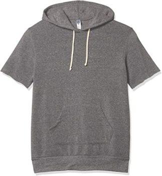 #9. Men's Short Sleeve Hoodie