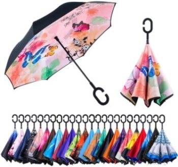 9. Newsight Double Layer Inverted Umbrella