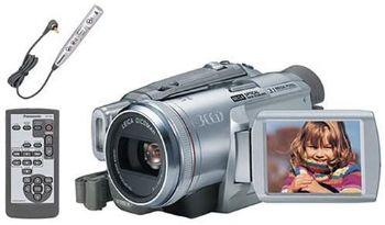 9. Panasonic PV-GS250 3.1MP 3CCD MiniDV Camcorder