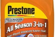 #1 Prestone AS658 Deluxe 3-in -1 windshield washer Fluid