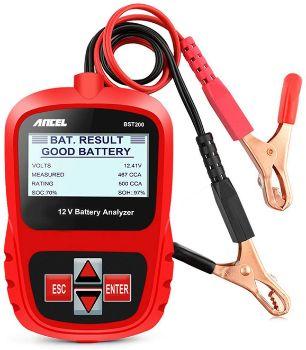 #1. ANCEL BST200 Car Battery Load Tester