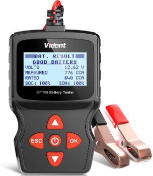 #10. VIDENT iBT100 Car Battery Tester