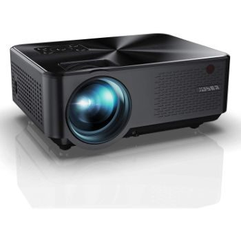 10. YABER Y60 Portable Projector with Full HD 1080P Display