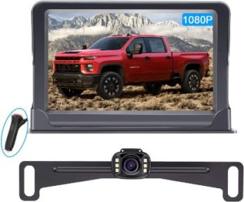# 2 LeeKooLuu LK3 HD 1080P Backup Camera