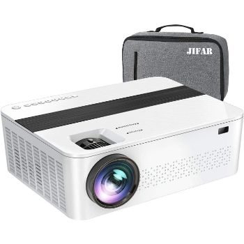 3. JIFAR Native 1080p Projector with 400-inches Display