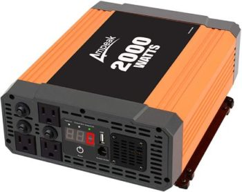 #5. Ampeak 2000Watts Power Inverter
