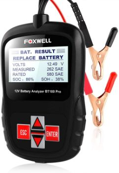 #5. FOXWELL Car Battery Tester
