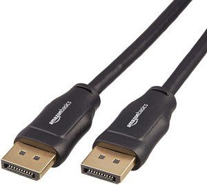 7. AmazonBasics DisplayPort to DisplayPort HD Display Cable