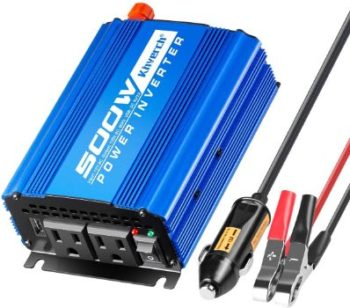 #7. Kinverch 500W Car Power Inverter