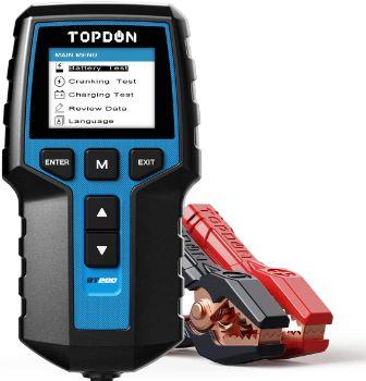 #7. TOPDON BT200 Car Battery Tester