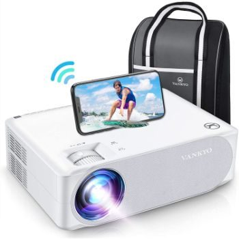 7. VANKYO Performance V630W Upgraded Native 1080P Projector