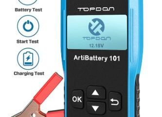 Top 10 Best Car Battery Testers in 2021 Reviews