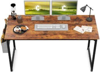 1. CubiCubi 55Study Computer Desk